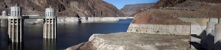 Hoover Dam / Lake Meade Panorama Stock Photo - 915478