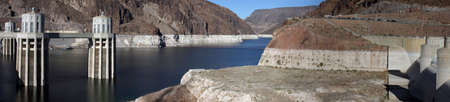 Hoover Dam  Lake Meade Panorama