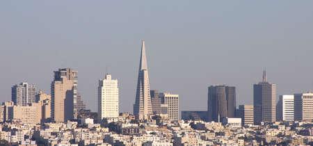 San Francisco en el horizonte durante el d�a
