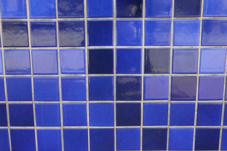 background/texture - blue tiles Stock Photo - 915504