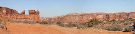 Utah desert panorama near the city of Moab