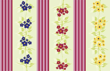 victorian wallpaper Stock Photo