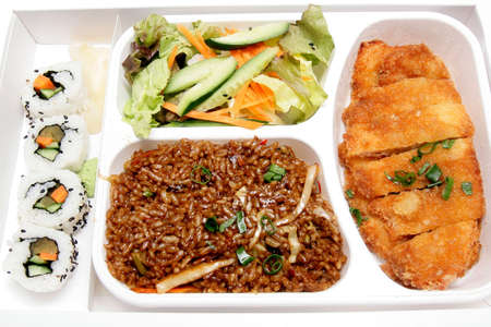 Bento box - Japanese cuisine fast food