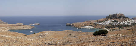 Lindos, Rhodes (Dodecanese in south-eastern Greece) Stock Photo - 3361248