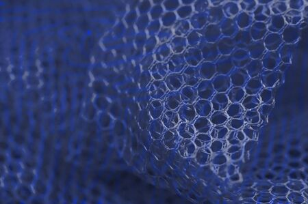 Abstraction. Blue grid. Pattern, composition. Background.