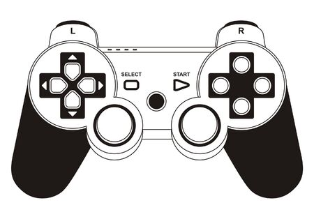 vector gamepad joystick Illustration