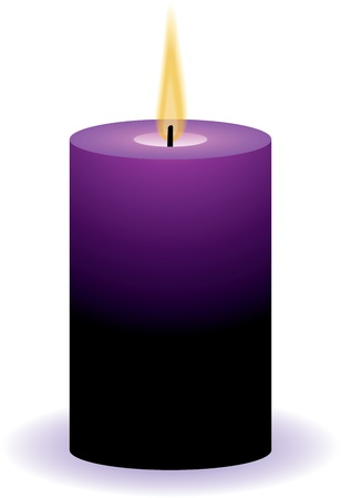 vector candle   일러스트