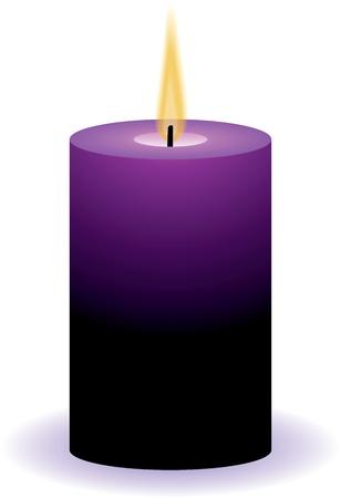 vettore candela