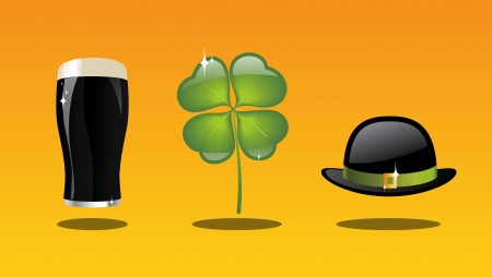 beer pint: st Patrick s day collection