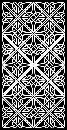 celtic ornamental knotwork  일러스트
