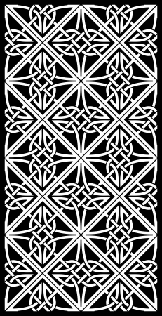 gaelic: celtic ornamental knotwork  Illustration