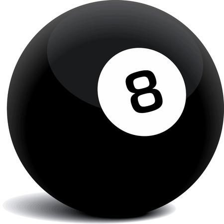 Billiards or fortune teller Vector