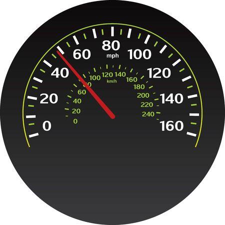 vector speedometer  Stock Vector - 17929593