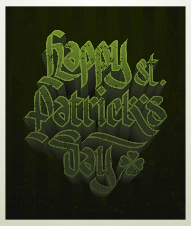st patrick s day card Stock Vector - 18135608