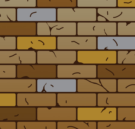 vector brick wall pattern