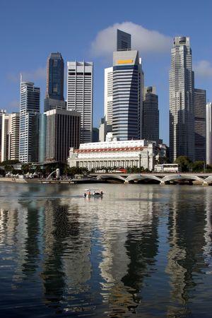Singapore downtown skyline photo
