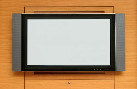 High definition plasma TV Stock Photo - 2249744