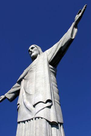 rio de janeiro: Statue of Jesus in Rio de Janeiro, Brazil
