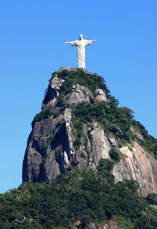 rio: Statue of Jesus in Rio de Janeiro, Brazil