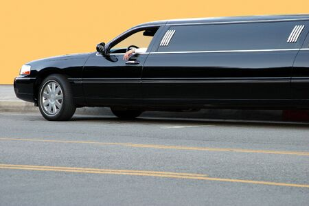 Black limousine Stock Photo - 2291448