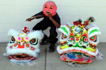 Dragon masks Stock Photo - 2297788