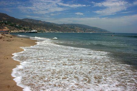 malibu: Malibu Beach, Los Angeles, California Stock Photo