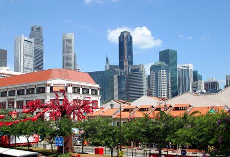 Chinese new year in Singapore photo