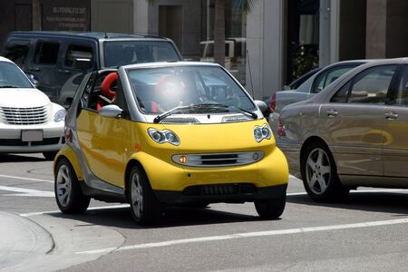 Mini automobile Editorial