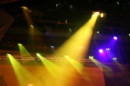 lighting effects: Searchlight in the theater