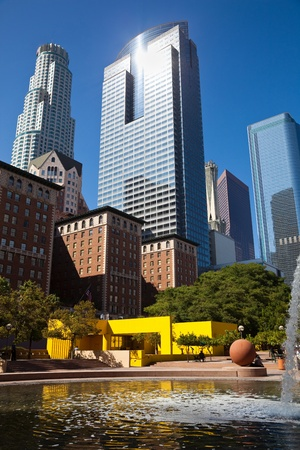 pershing: Pershing Square in Los Angeles Downtown