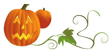 Jack'o lantern ready for Halloween Banco de Imagens - 2623288