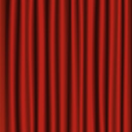 Rideau de velours rouge de fond ou de fond Banque d'images - 2778500