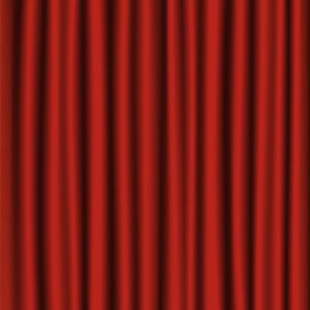 Velvet red curtain background or backdrop