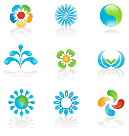 Environmental graphic design elements Stock Vector - 3599307