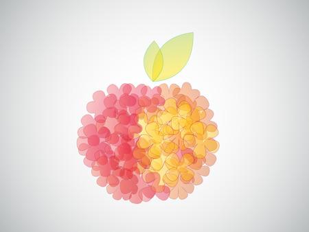 fruit stem: apple