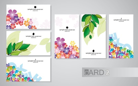 business cards 2 Vector
