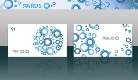 visit card: business cards set