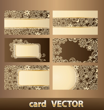 business cards 4 Vector