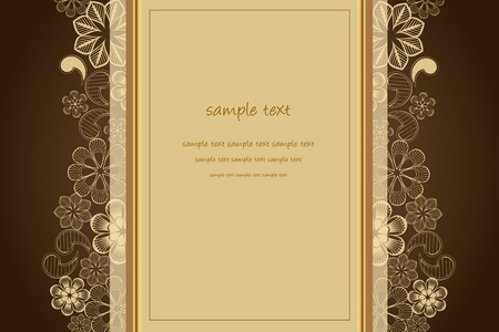 color page: wedding background with place for your text Illustration