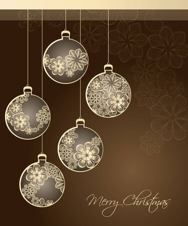 traditional silver wallpaper: Merry Christmas abstract background 2