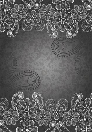 декоративный фон, черно-белый 1