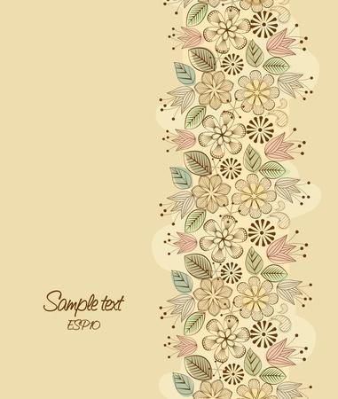식물상: 백그라운드에서 꽃의 색깔 훈장