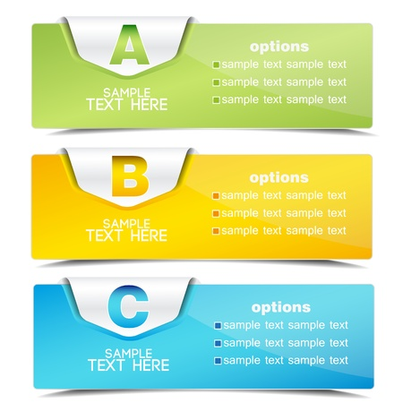 on special offer: banner on the product description and more options