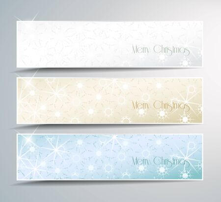 Set of Christmas banner Stock Vector - 15315226