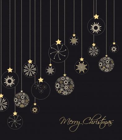 Рождественские украшения из векторных иллюстраций снежинки Иллюстрация