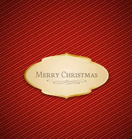 Vector Merry Christmas frame and background Vector