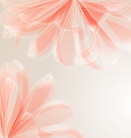 Abstract floral background with place for text Stock Vector - 16123471