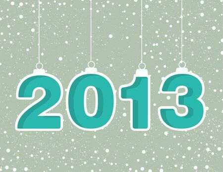 Happy new year 2013! New year design template Stock Vector - 16246257