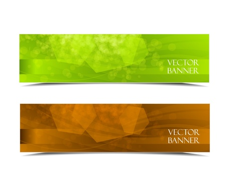 set of colorful vector banners  Vector