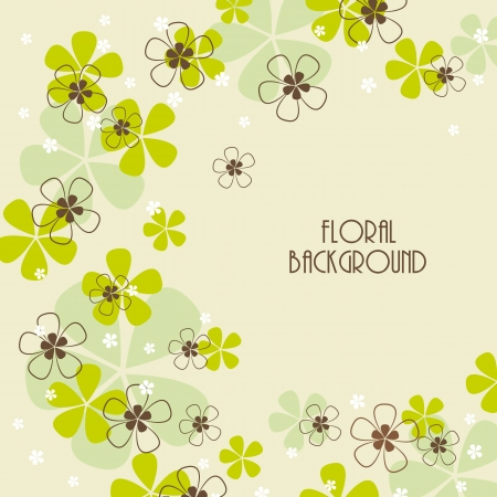 floral background, greeting card Stock Vector - 17081253